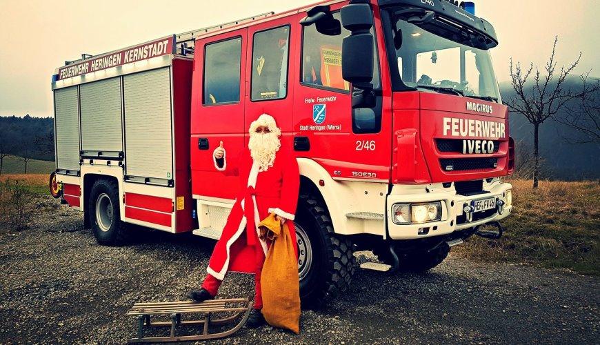 Weihnachtsmann in Notlage