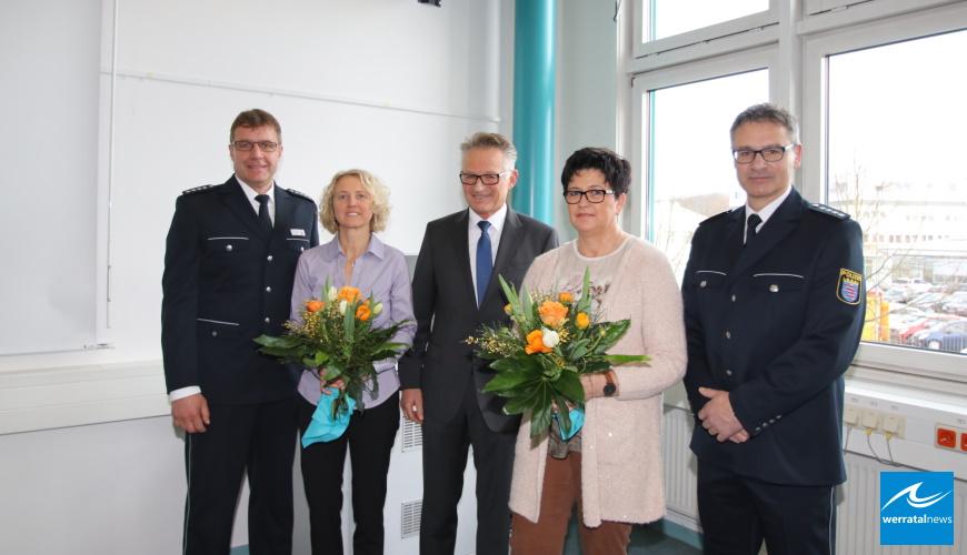 Peter Heil aus Fulda und Elmar Vogel aus Bebra neue Leiter der Polizeistationen