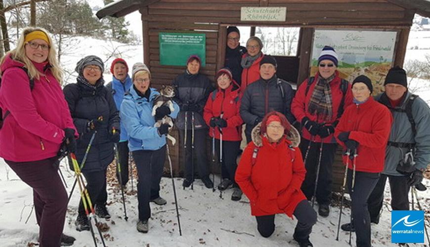 Nording Walking - Neujahrslauf rund um den Dreienberg