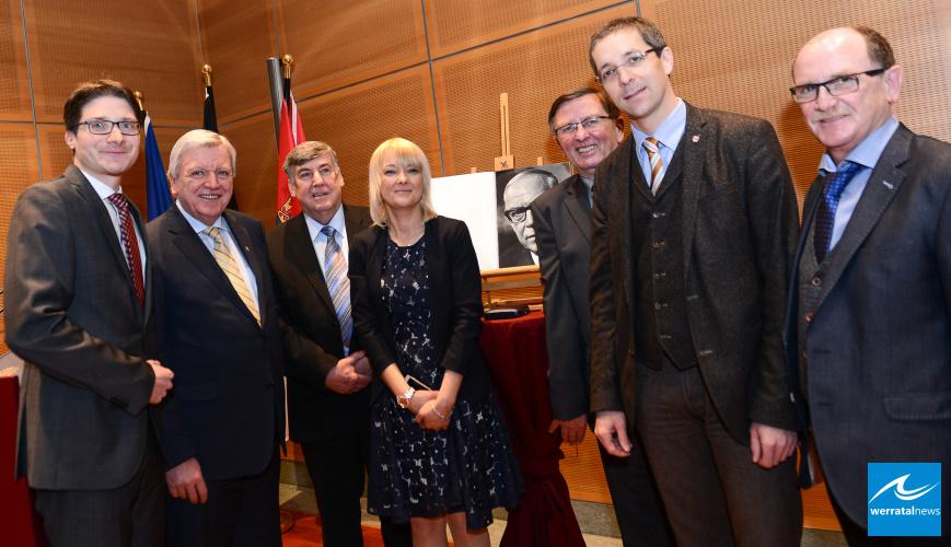 Ministerpräsident Bouffier ehrt Unternehmer Leist aus Friedewald