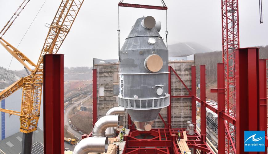 Großkomponenten für eine Kali-Zukunft – Mammutprojekt KKF im Zeitplan