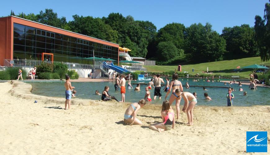 fritz kunze bad zum Beginn der Sommerbadesaison mit neuer Homepage