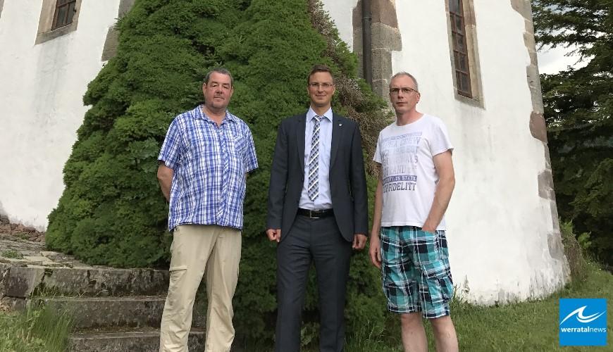 Historische Kapelle auf dem Mansbacher Friedhof aus Sicherheitsgründen gesperrt