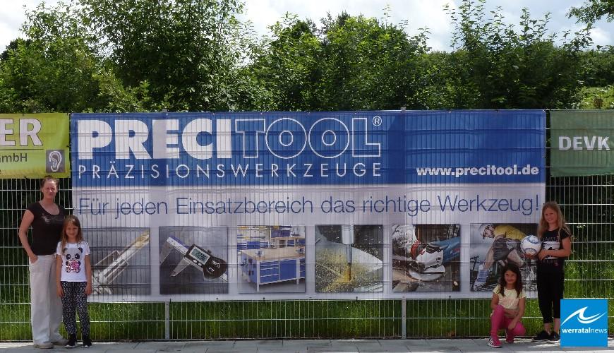 PRECITOOL engagiert sich für den Förderverein Ronshausen
