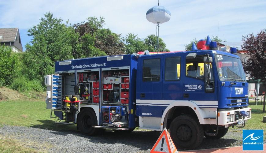 Erfolgreicher Tag der offenen Tür bei der Feuerwehr Wölfershausen