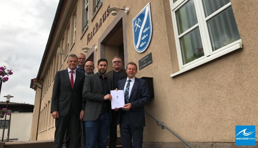 EAM schließt Vertrag mit der Stadt Heringen (Werra)