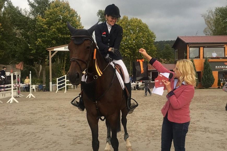 Katja Brühl verteidigt Titel beim Großen Preis in Richelsdorf