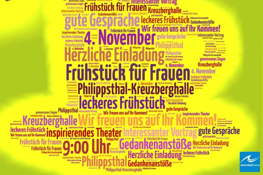 Frühstück für Frauen in Philippsthal am 4.November
