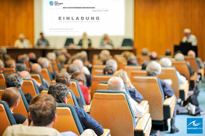 Lange Agenda bei nächster Stadtverordnetenversammlung in Heringen