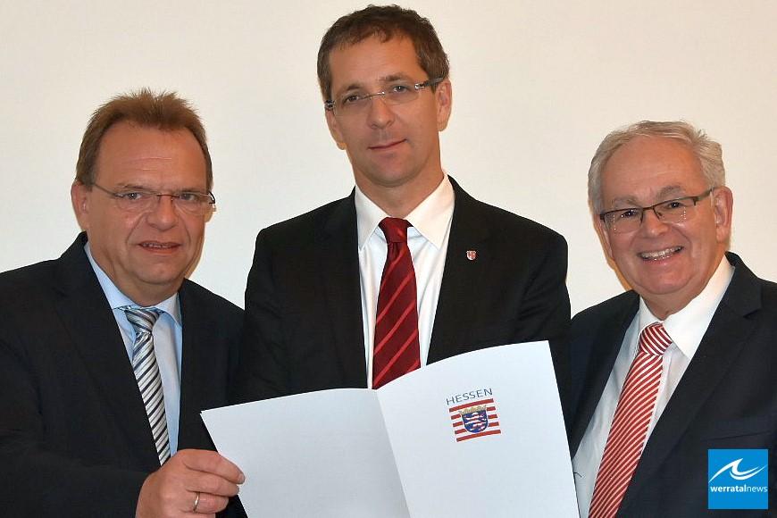 Land Hessen fördert kreisübergreifendes Archiv mit 100.000 Euro
