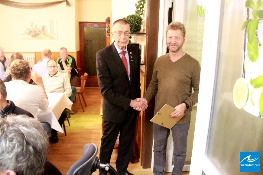 Jahresabschluss beim Sozialverband VdK Ortsverband Lengers / Harnrode