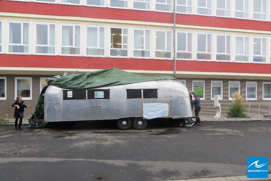 Beruflichen Schulen Bebra: Enthüllung eines Airstream