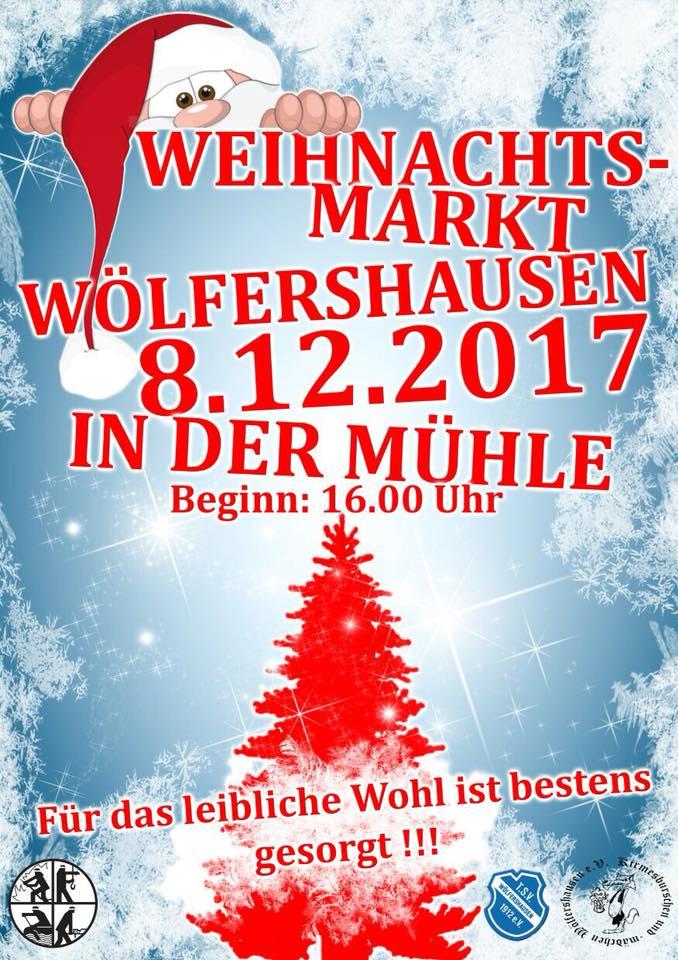 Weihnachtsmarkt in Wölfershausen
