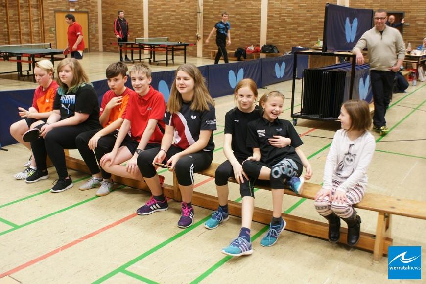 Vereinsmeisterschaften im Tischtennis des TV03