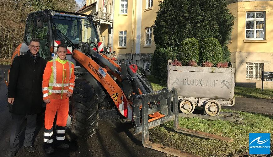 Neuer Radlader für den gemeindlichen Bauhof