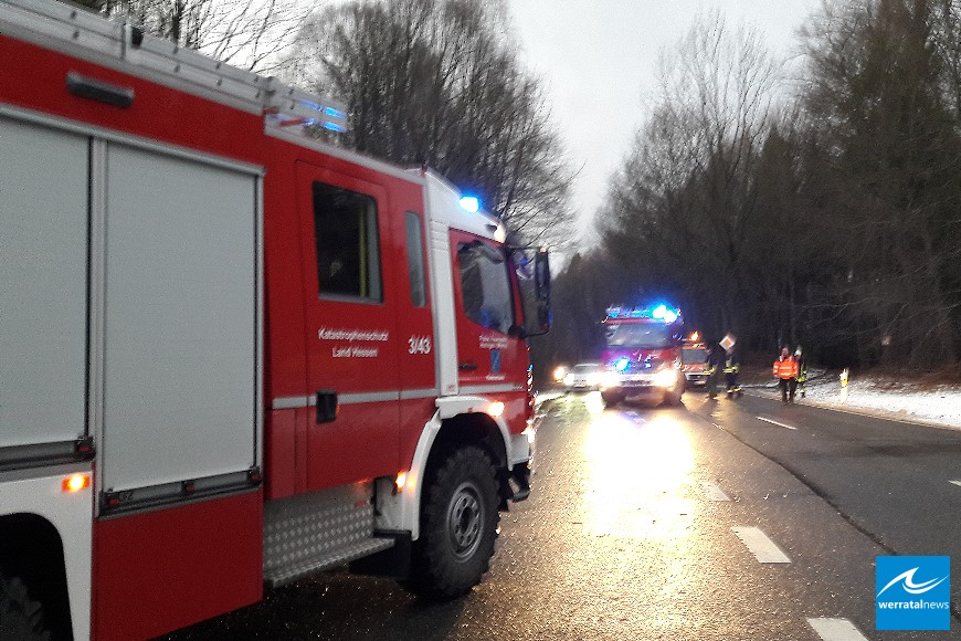 Orkan Friederike: Landrat bedankt sich bei allen Helfern im Kreisgebiet