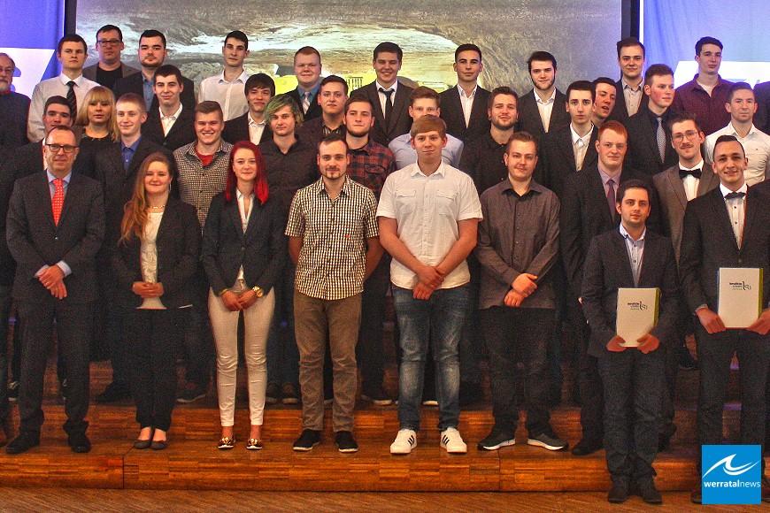Werk Werra: 42 junge Frauen und Männer haben ihre Ausbildung erfolgreich beendet