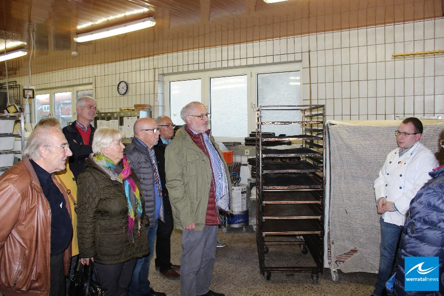 SPD-Kreistagsfraktion besucht Brandaus Backstube