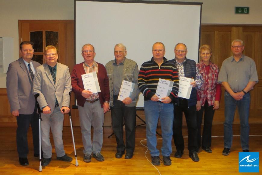VdK: Zahlreiche Ehrungen langjähriger Mitglieder