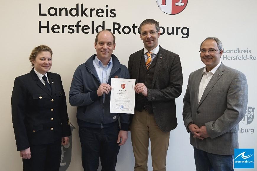 Torsten Wennemuth zum Kreisbrandmeister mit Sonderaufgaben ernannt