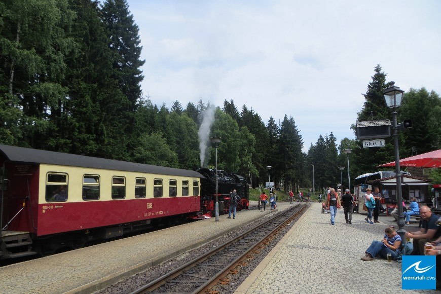 VdK mit der Dampfeisenbahn unterwegs