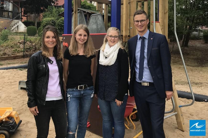 Neue Kräfte im Kindergarten Pfiffikus in Ausbach