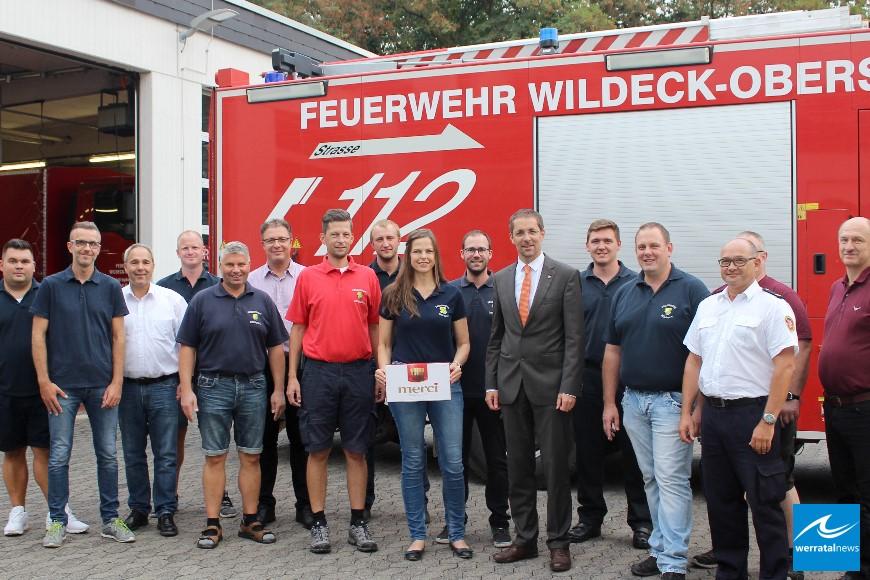 Landrat Dr. Koch besucht überörtliche Feuerwehren im Kreis