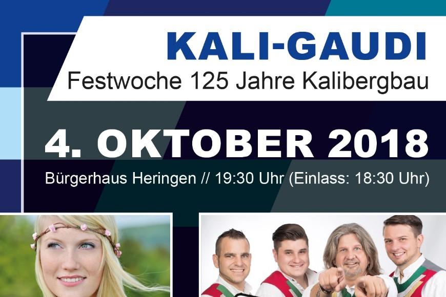 KALI-GAUDI mit den Randfichten, Marilena und Ex-Schürzenjäger Freddy Pfister