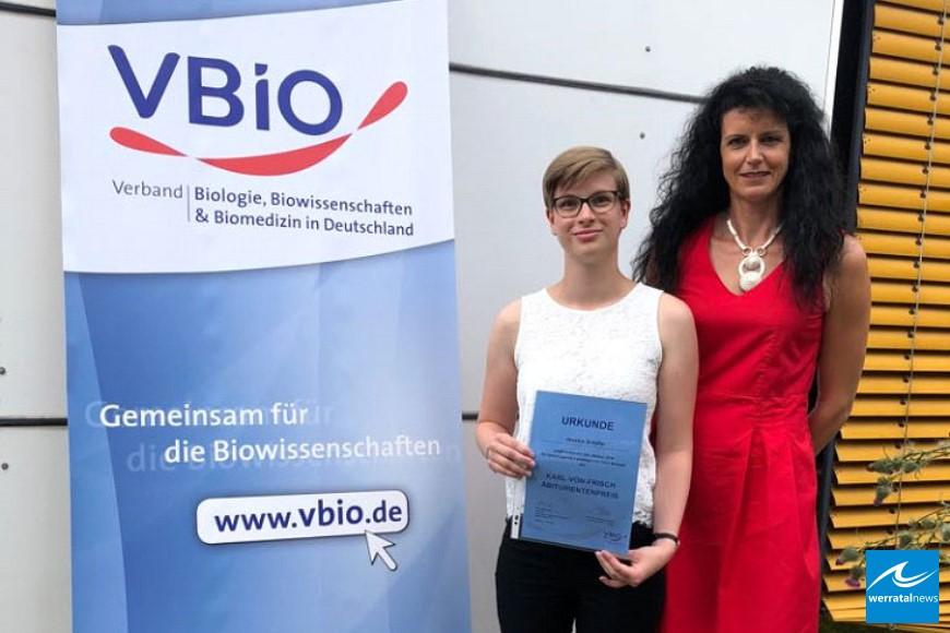 Karl-von-Frisch-Abiturientenpreis 2018 ging an die Beruflichen Schulen Bebra
