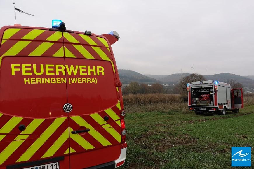 Feuerwehr rettet 49-jährigen aus Werra