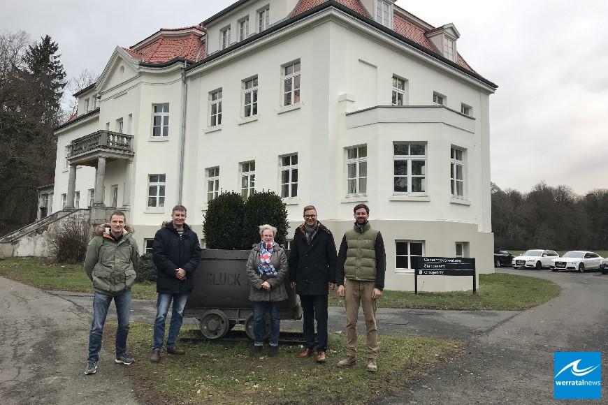 Schloss Hohenroda wird zum Schmuckstück