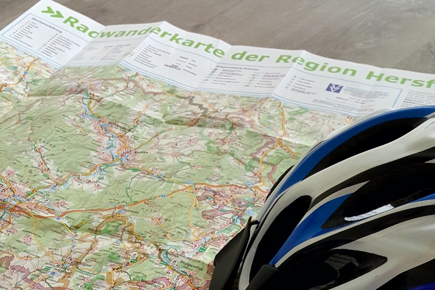 Kostenlose Radwanderkarte liegt ab sofort aus
