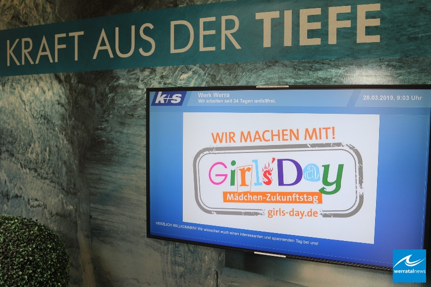 Girls Day bei K+S: 44 Mädchen im Werk Werra