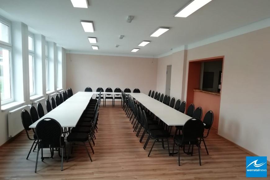 Gemeinschaftshaus Wölfershausen erstrahlt in neuem Glanz