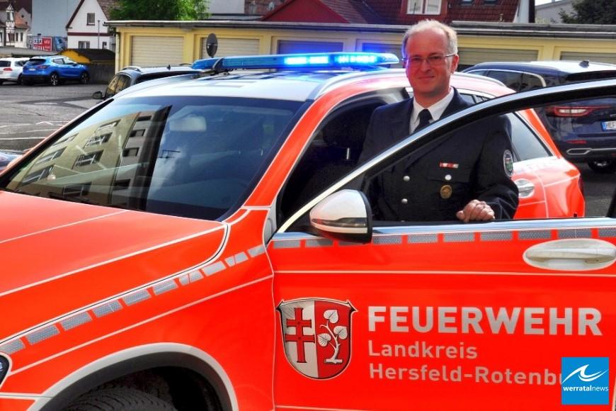 Marco Kauffunger wird neuer Kreisbrandinspektor