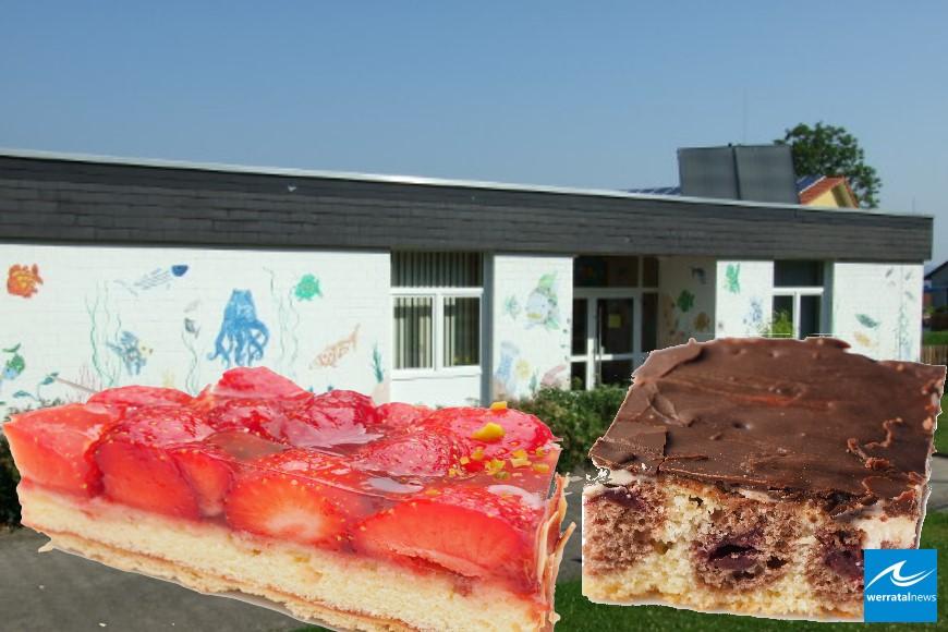 Kuchenverkauf zum Tag der Kinderbetreuung am 13.05.