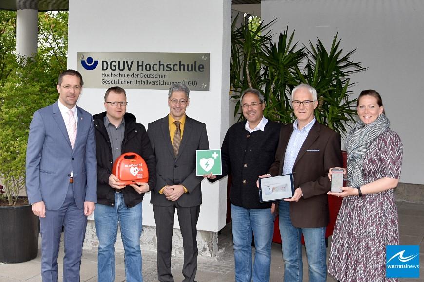 App hilft bei der Suche nach Defibrillatoren