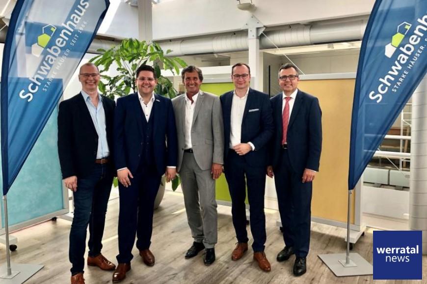 Schwabenhaus GmbH & Co. KG mit zwei neuen Geschäftsführern