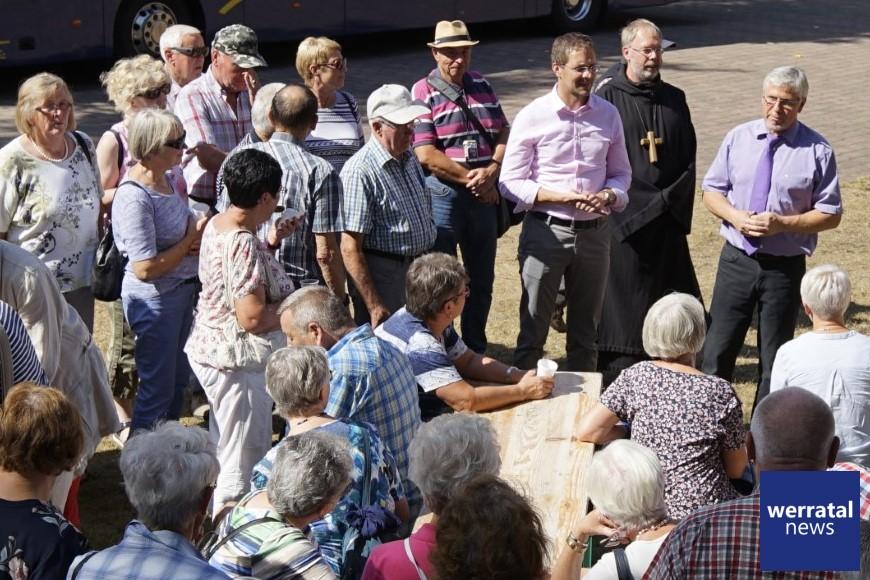 Sommertour mit dem Landrat - auch zum Mahnmal Bodesruh