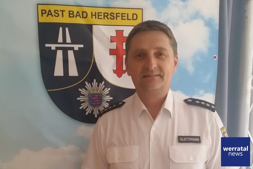 Jürgen Gleitsmann neuer Chef der Polizeiautobahnstation Bad Hersfeld