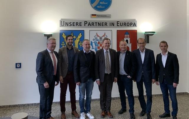 Thüringens Ministerpräsident Ramelow beim Aktionsbündnis K+S