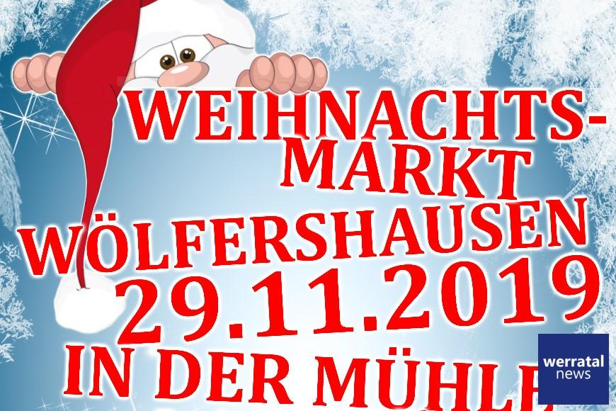 Gemütlicher Weihnachtsmarkt am 29.11. in Wölfershausen