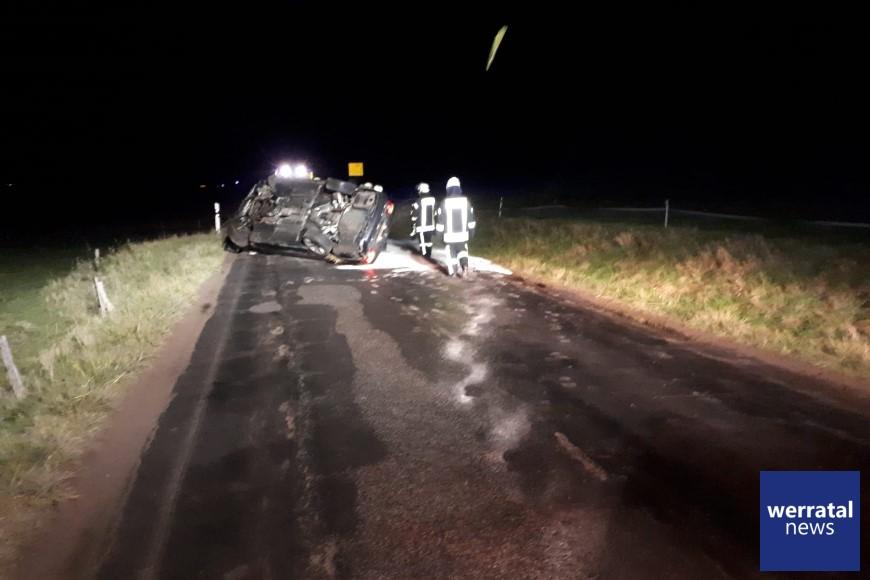 Tödlicher Verkehrsunfall zwischen Dippach und Leimbach