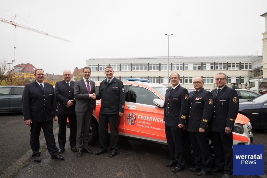 Feuerwehr-Team wieder komplett: Holger Möller zum Kreisbrandmeister ernannt
