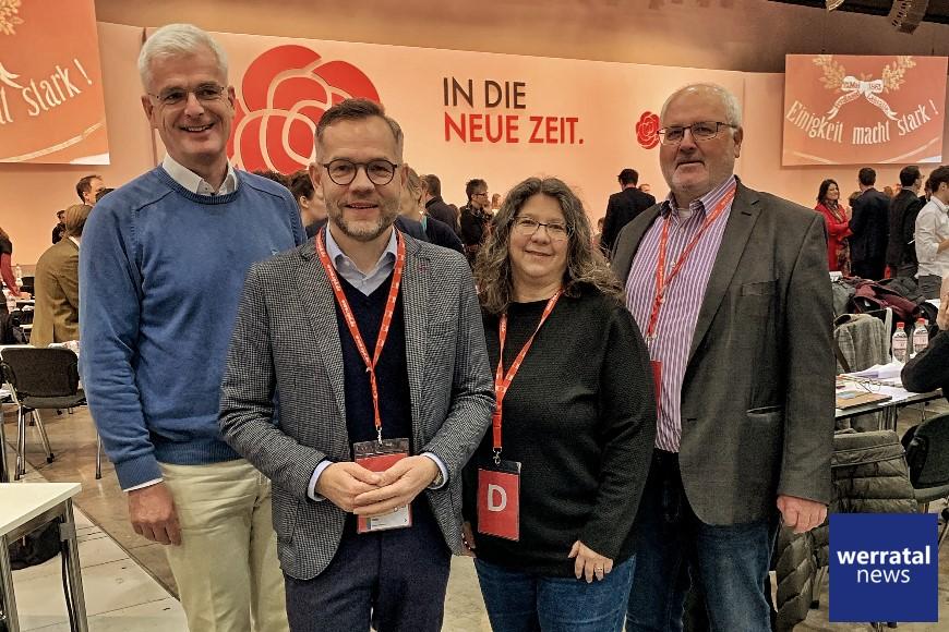 SPD: Michael Roth mit sehr gutem Ergebnis im Parteivorstand