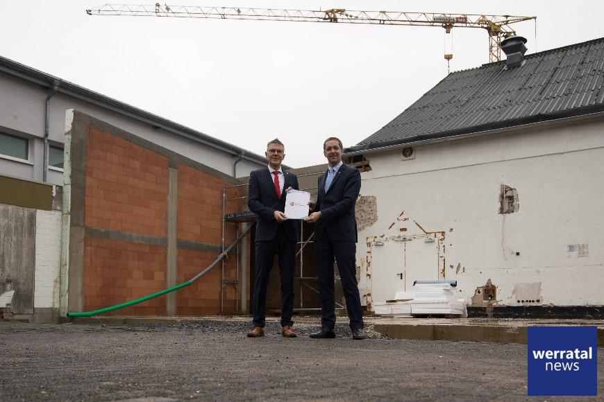 102.000 Euro-Zuschuss für die Erneuerung der Festhalle in Friedewald