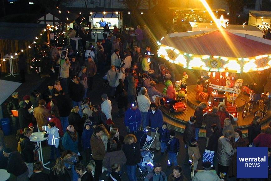 Weihnachtsmarkt in Heringen am 7. Dezember am Anger und im Kalimuseum