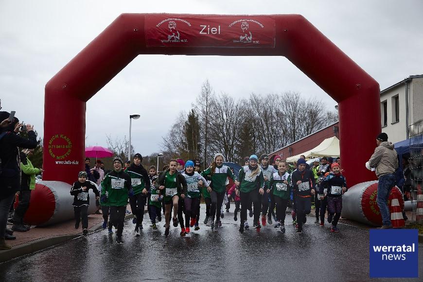 2. Lauf der Winterlaufserie mit hervorragenden Leistungen