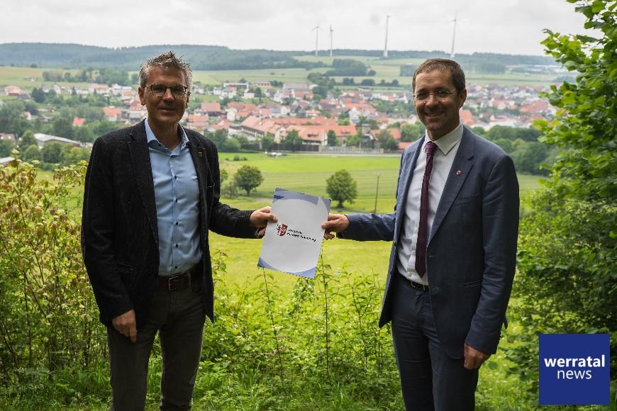 Gemeinde Friedewald plant Aussichtsturm am Dreienberg