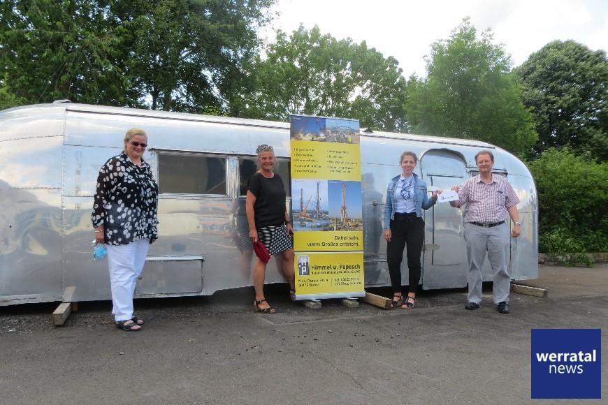 Bauunternehmung Himmel und Papesch unterstützt Schulprojekt AIRSTREAM